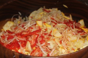 Raw Fennel & Orange Salad - 1