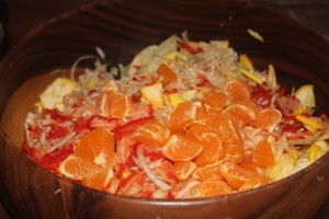 Raw Fennel & Orange Salad - 2