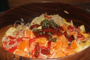 Raw Fennel & Orange Salad - 3