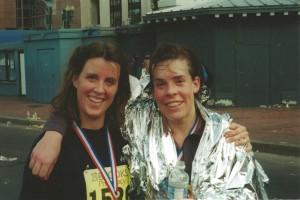 Jen & Sara Marathon 2000