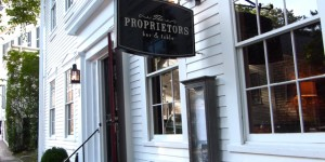 Where to eat on Nantucket?  The Proprietors!