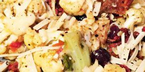 Easy, Healthy, QUICK Cauliflower Dinner Recipe!